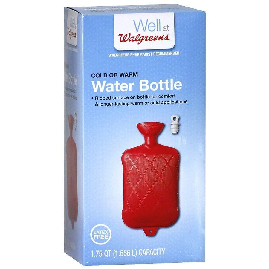 <p>The <span>Walgreens Water Bottle</span> ($8) can be used for heat and cold therapy. It doesn't come with a cover, so be sure to wrap it in a towel (or buy a cute cover for it!) before using.</p>