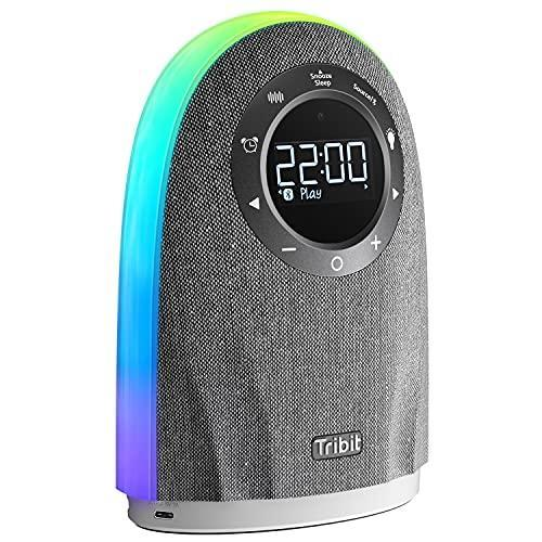 Tribit 25W Powerful Home Speaker with LCD Time Display, Touch Sensor Control, RGB Lights Show,…