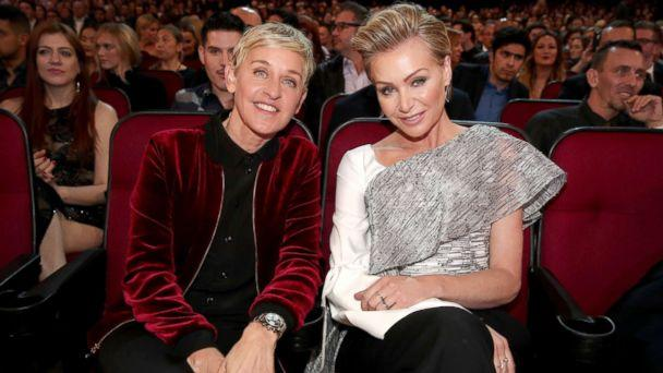 PHOTO: Ellen DeGeneres and Portia de Rossi attend the People's Choice Awards 2017 at Microsoft Theater on Jan. 18, 2017 in Los Angeles. (Getty Images, FILE)