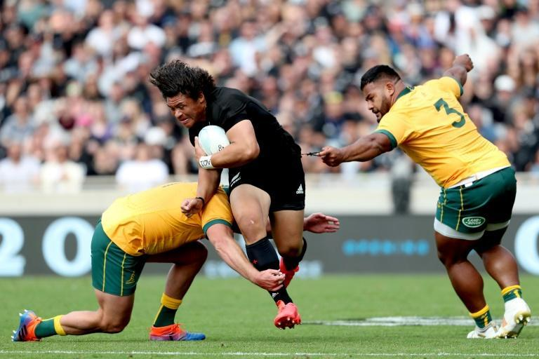Wallabies assistant coach Scott Wisemantel warned against giving the ball to All Blacks wing Caleb Clarke