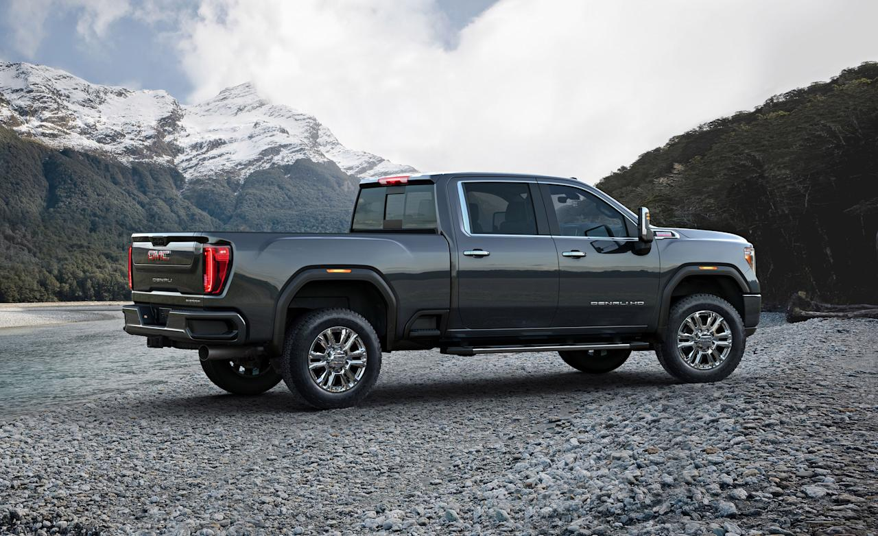 The new 2020 GMC Sierra heavy-duty pickup truck has just crested the horizon hot on the heels of Chevrolet's redesigned Silverado HD. As you'd expect the styling is the biggest differentiator between the two trucks which is either a good or a bad
