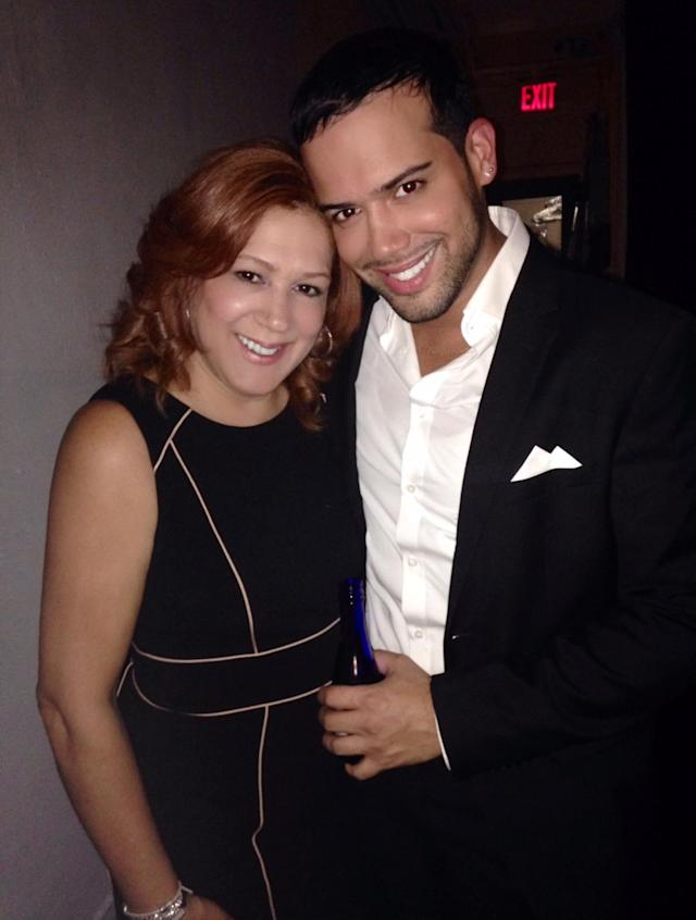 "Jonathan Fernandez poses with mother, who is now his ""best friend."" (Courtesy: Jonathan Fernandez)"