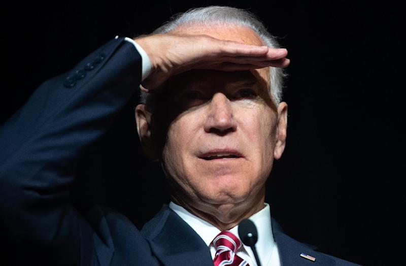 Former vice president Joe Biden, who is mulling a White House campaign, will be 78 years old on Inauguration Day 2021 (AFP Photo/SAUL LOEB)