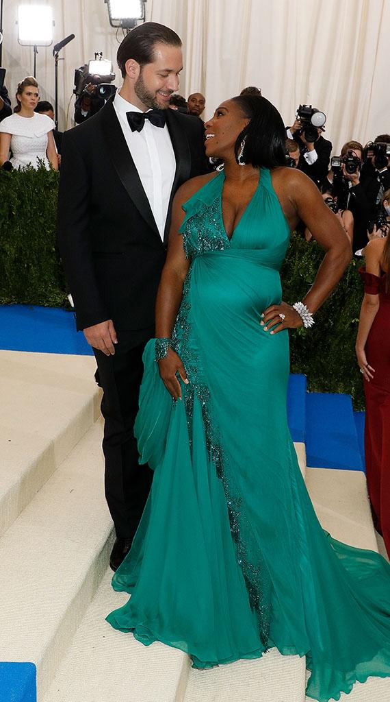 NEW YORK, NY - MAY 01: Alexis Ohanian and Serena Williams attend
