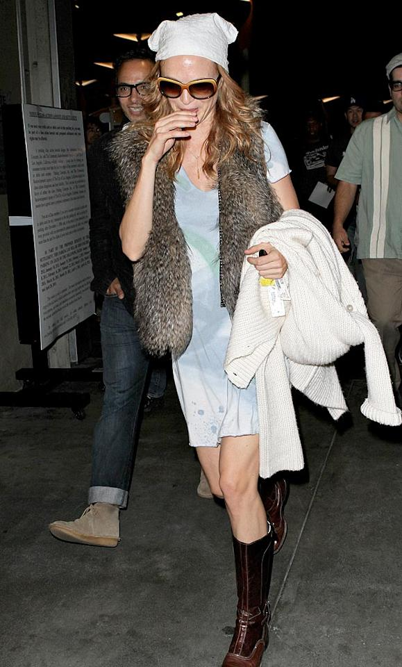 "We haven't seen Heather Graham in quite some time, and thanks to this mismatched mess, we suggest she take a few more months off to revitalize her wardrobe. Campos-Epa/<a href=""http://www.x17online.com"" target=""new"">X17 Online</a> - August 16, 2010"