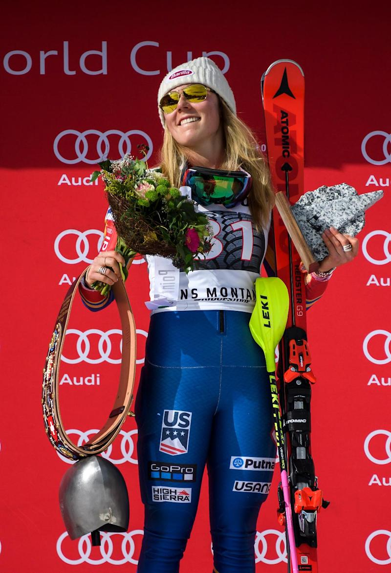 Alpine Skiing - Shiffrin wins at Squaw Valley to boost World Cup lead