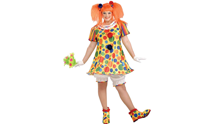 Clown costumes don't have to freak everyone out.