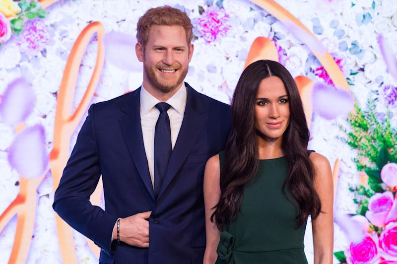 People Have Mixed Feelings About Meghan Markle and Prince Harry's Wax Figures