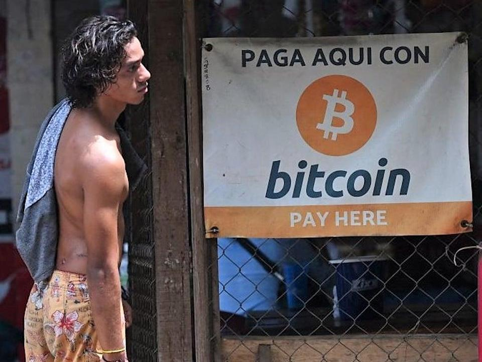 Bitcoin will officially become legal currency in El Salvador on 7 September, 2021 (AFP via Getty Images)