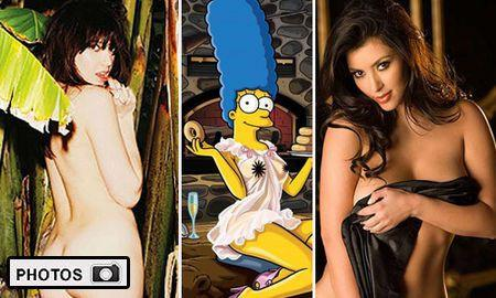 <b>GALLERY: </b> Stars Who've Stripped for Playboy