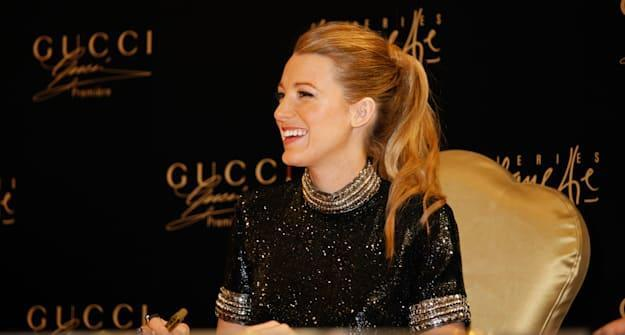Blake Lively Makes Personal Appearance For Gucci In Dubai