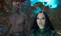 <p>Pom Klementieff plays the newly introduced character Mantis, a telepathic hero with a familial connection to Quill. In the comics, Mantis has several adventures with the Guardians and Avengers. (Photo: Marvel) </p>
