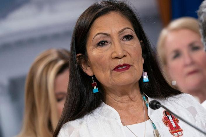 New Mexico Congresswoman Deb Haaland will be the first Native American to serve as Secretary of the Interior. (Getty Images)