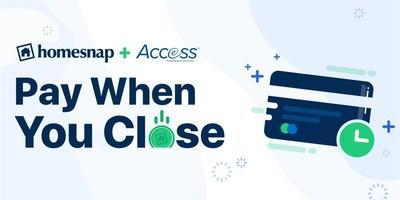 Homesnap Launches Access – A New Payment Service Powered By eCommission