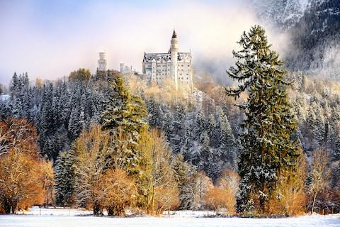 Neuschwanstein - Credit: GETTY