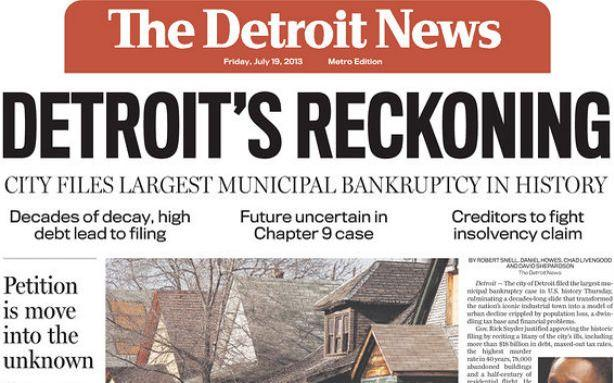 Is Bankruptcy the End of Detroit or a New Beginning?