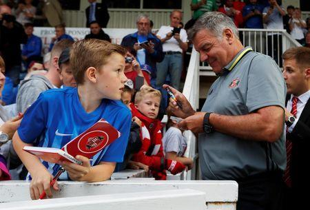 Britain Football Soccer - Hartlepool United v Sunderland - Pre Season Friendly - Victoria Park - 20/7/16 Sunderland manager Sam Allardyce before the match Action Images via Reuters / Lee Smith Livepic