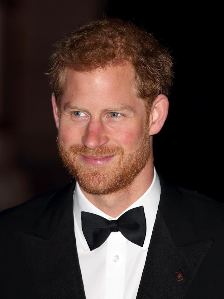 Watch out Meghan, Prince Harry was looking extremely dapper while attending the 100 Women in Finance gala dinner at the Victoria and Albert museum in London on Wednesday.