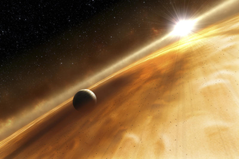 Astronomers discover 'planet that never was'