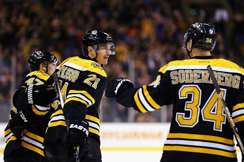 separation shoes 30ef4 e3899 With Carl Soderberg gone, what will Bruins do with Loui ...
