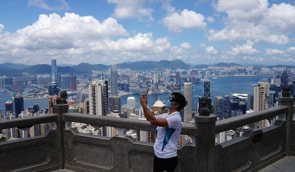 Tight border controls in Hong Kong and around the globe due to the ongoing Covid-19 pandemic have brought the city's once lofty tourist numbers crashing down. Photo: Sam Tsang
