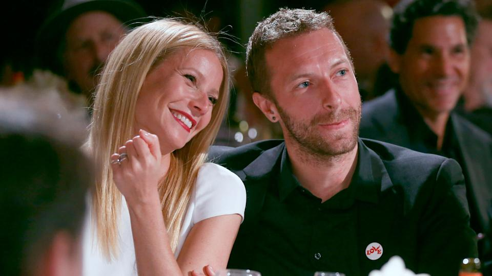 Mandatory Credit: Photo by Colin Young-Wolff/Invision/AP/Shutterstock (9062386d)Gwyneth Paltrow, left, and Chris Martin are seen at the 3rd Annual Sean Penn & Friends HELP HAITI HOME Gala on at the Montage Hotel in Beverly Hills, Calif3nd Annual Sean Penn & Friends HELP HAITI HOME Gala - Inside, Beverly Hills, USA.