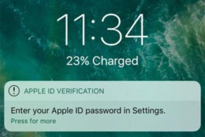 Krause said the best way to not be duped was by entering your login details via settings. Source: Felix Krause