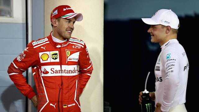 After being outperformed by Mercedes in qualifying for the Bahrain GP, Sebastian Vettel struggled to explain where Ferrari lost time.