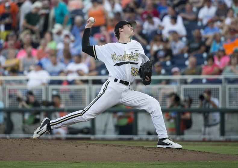Dodgers pitcher Walker Buehler pitched for the Vanderbilt Commodores during his collegiate years.