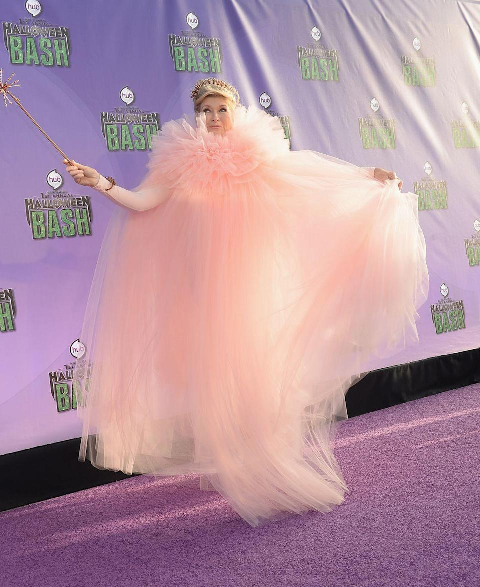 <p>Martha definitely made a statement when she hit the purple carpet as the <em>Wicked</em> star for a Halloween bash in 2013. </p>