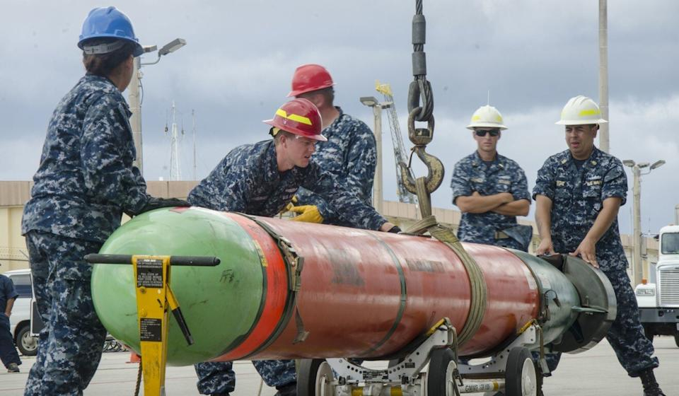 The American torpedoes feature advanced sonar targeting for submarines. Photo: Navy Media Content Services