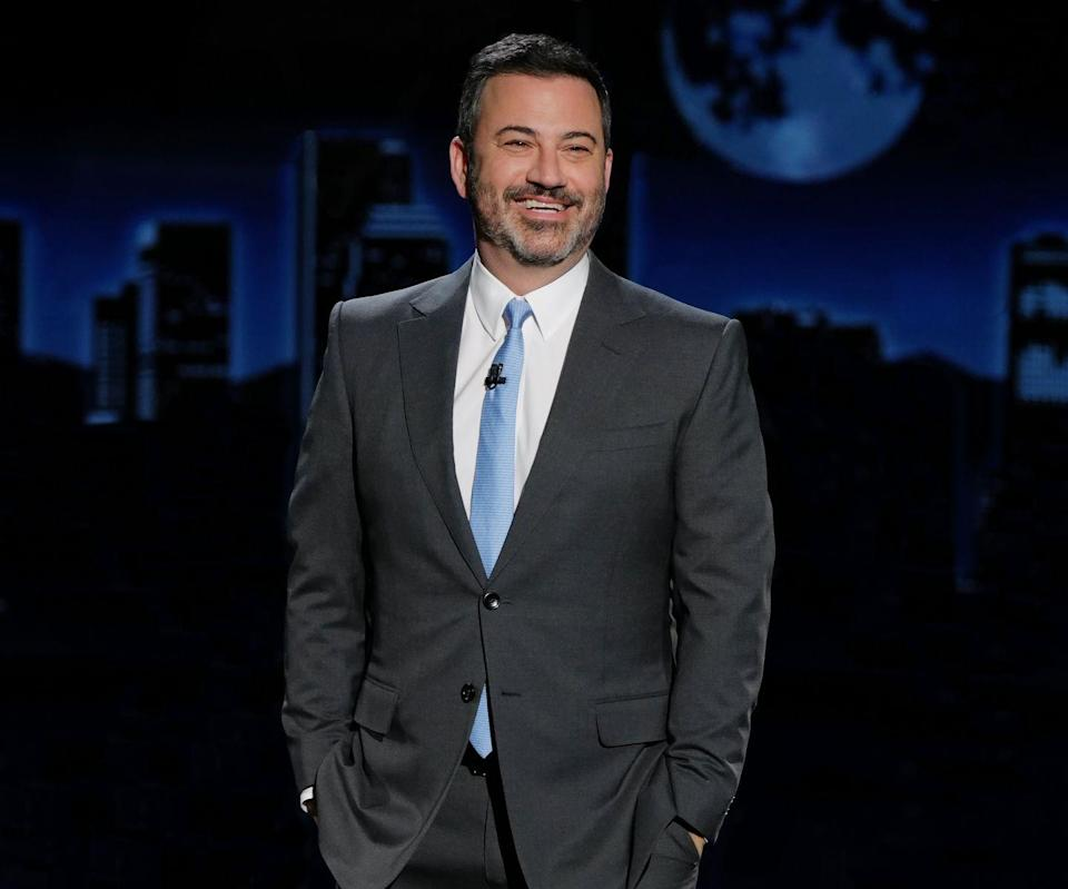 """<p>Intermittent fasting is certainly a trendy diet right now, but it's also the way talk show host Kimmel maintains his weight. He follows the 5:2 method, meaning two days a week he eats less than 500 calories, he told <a href=""""https://www.mensjournal.com/features/the-weird-way-jimmy-kimmel-lost-the-weight-20151214/"""" rel=""""nofollow noopener"""" target=""""_blank"""" data-ylk=""""slk:Men's Journal"""" class=""""link rapid-noclick-resp""""><em>Men's Journal</em></a>. </p>"""
