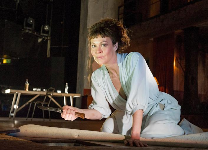 As Medea at the National Theatre (Olivier, 2014): 'the performance of her career' - Alastair Muir