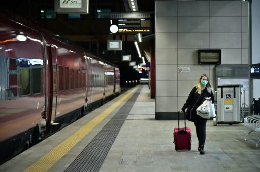 A host of air and rail services to Italy's neighbours have been cancelled after the government imposed drastic nationwide quarantine measures to contain the coronavirus
