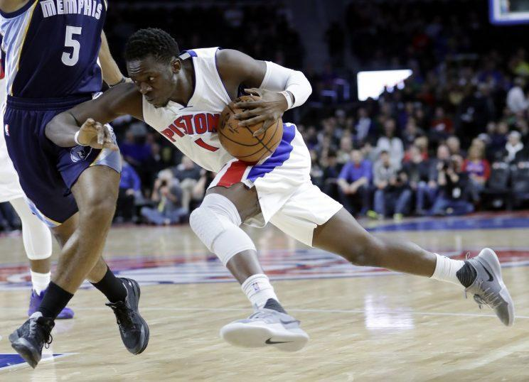 Reggie Jackson hasn't yet jelled with the Pistons this season. (AP)