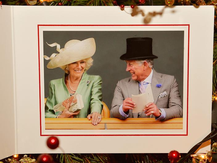 Prince Charles and Camilla Christmas Card 2013