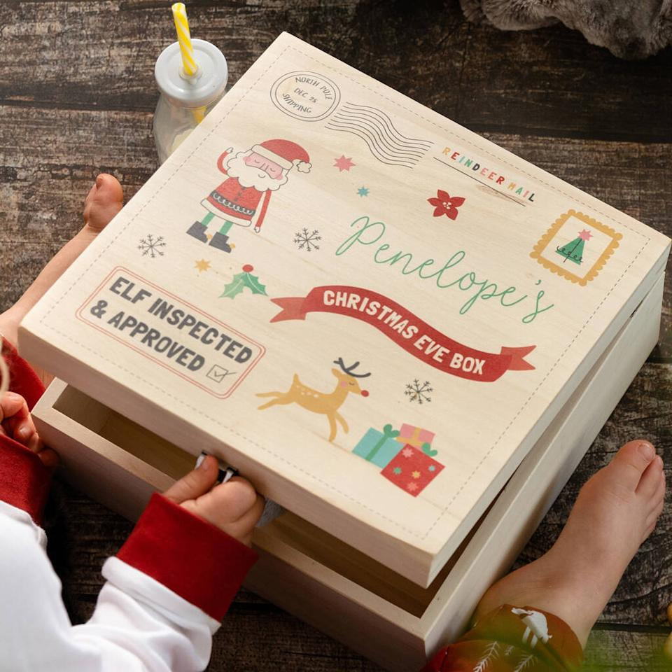 Invest in a wooden version to bring joy every festive season [Image: Not On The High Street]