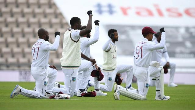 England vs West Indies: Players take knee in support of Black Lives Matter movement