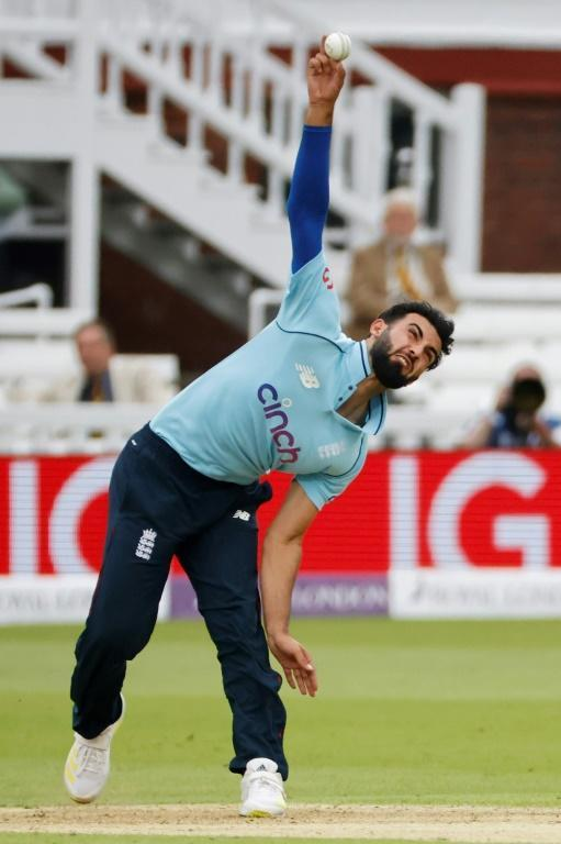 Uncapped - White-ball international Saqib Mahmood, yet to play at Test level, is in the England squad for next week's match against India