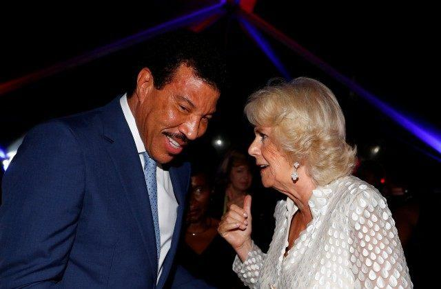 Lionel Richie and Camilla, Duchess of Cornwall