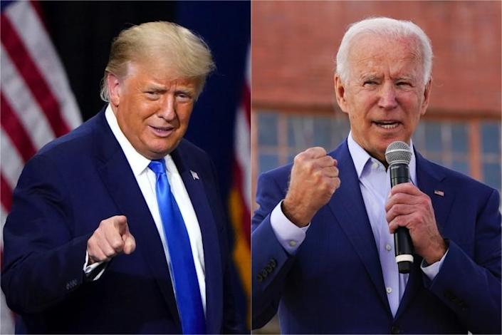 President Trump and Joe Biden challenge each other's fitness, a study says they're healthy enough.
