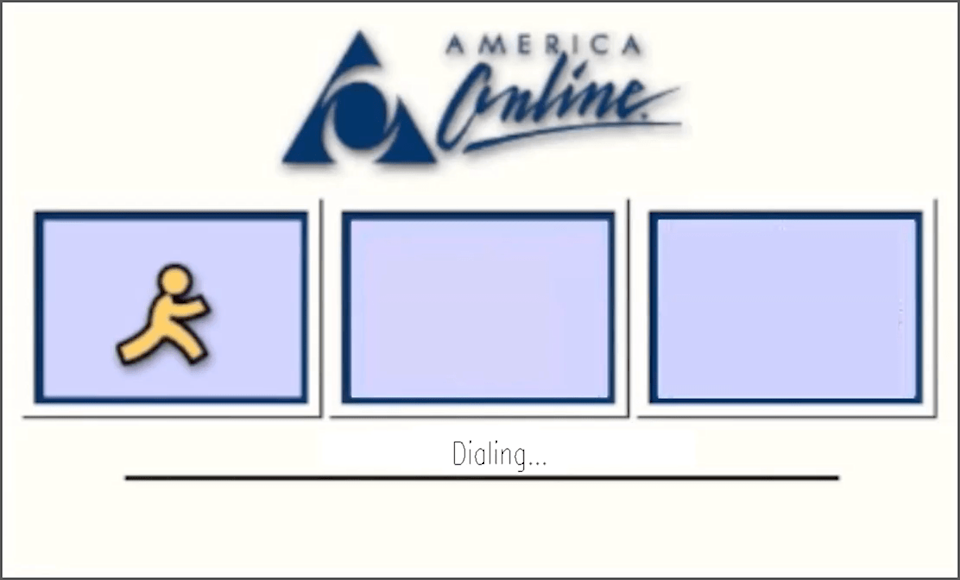 AOL Dial Up