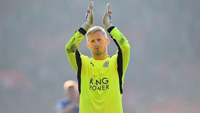 <p><strong>Number of saves this season: 70</strong></p> <br><p>It's been an indifferent season for Leicester City's Danish stopper. Despite earning hero status for his penalty saving antics in the Champions League, Schmeichel has seemed to struggle domestically. </p> <br><p>With his defence a far cry from last season's title-winning back line, the 30-year-old has been forced to help out on a number of occasions.</p>