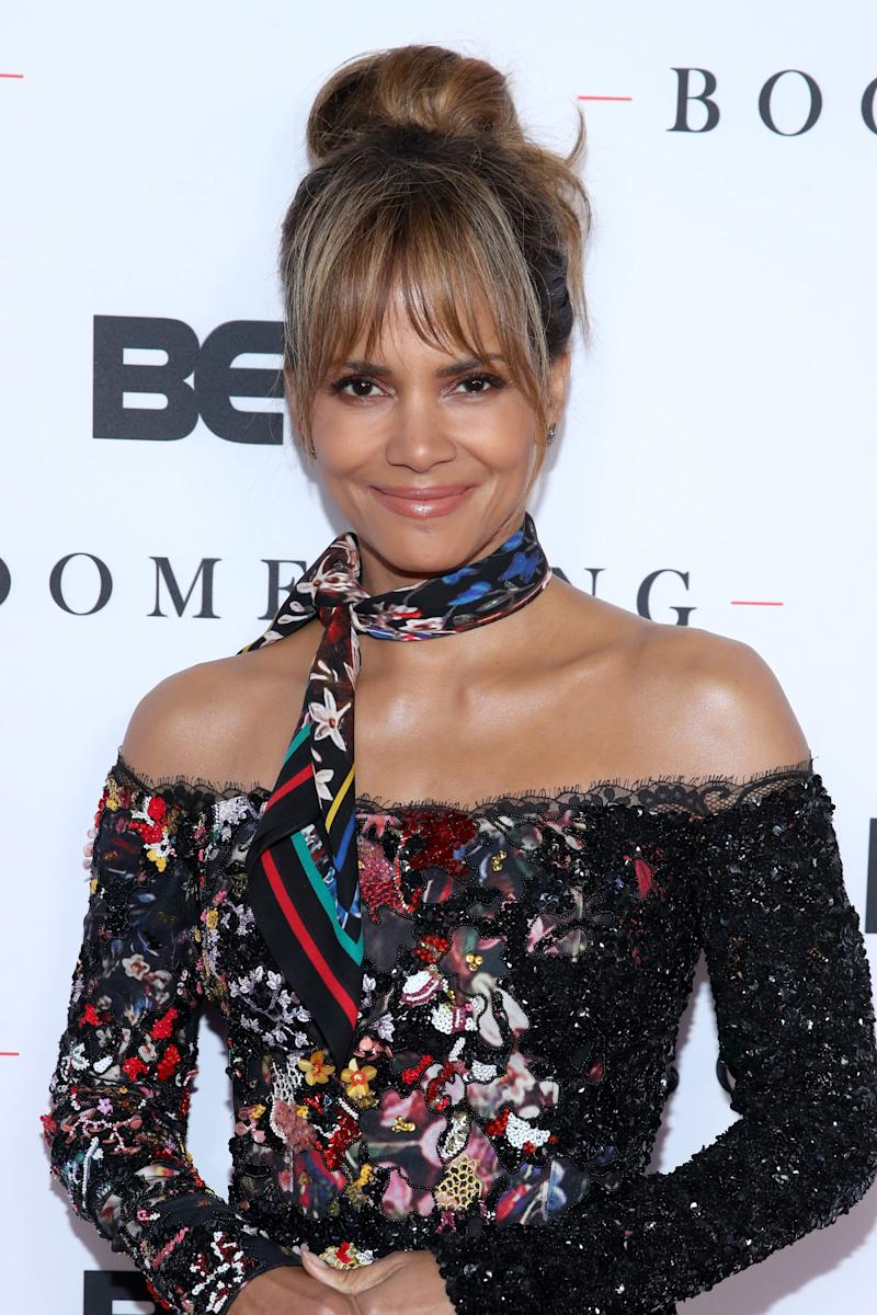 NORTH HOLLYWOOD, CALIFORNIA - FEBRUARY 11: Halle Berry attends the BET