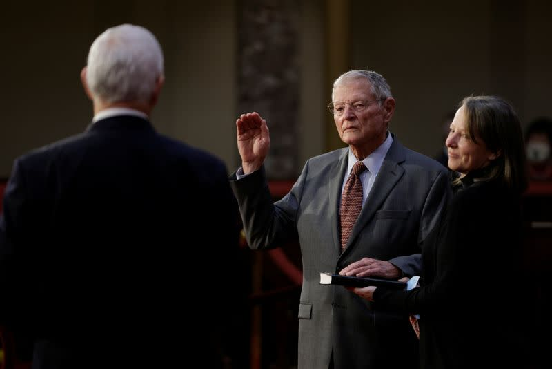 Swearing-in for members of 117th Congress at the U.S. Capitol Building in Washington