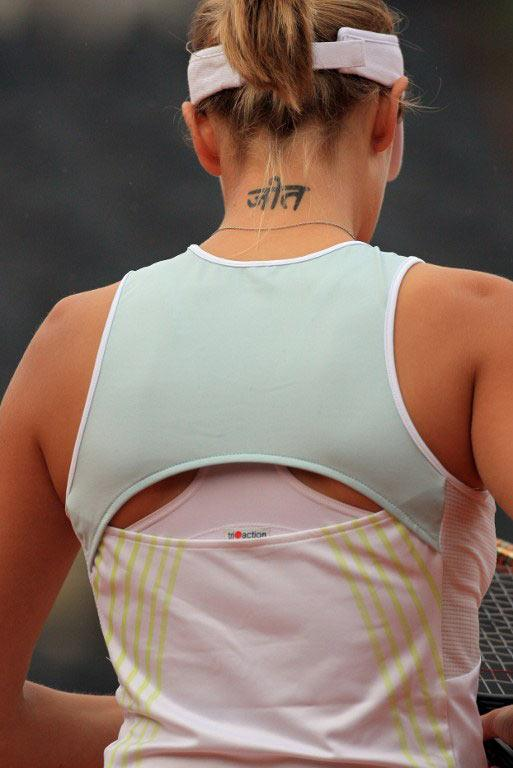 Tennis tattoo