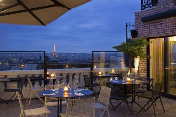 Soak up the view from Terrass' terrace bar (Christophe Bielsa)