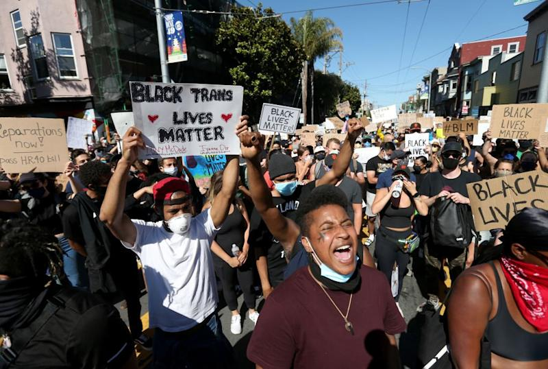 San Francisco Man Confronted by White Couple After Writing 'Black Lives Matter' Outside His House in Viral Video