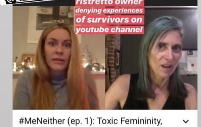 The video host claims she was not the whistleblower's boss