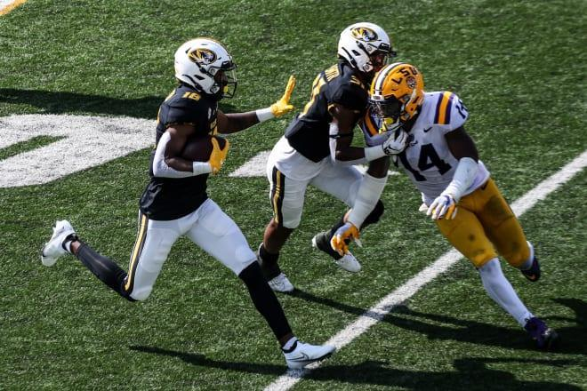 Reserve receivers earn more time after coming through vs. LSU